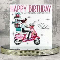 Personalized Birthday Cards, Handmade Birthday Cards, Special Birthday, Happy Birthday, Luxury Birthday Cards, Christening, Wedding Cards, Swarovski Crystals, Christmas Cards
