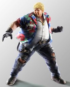 Robert 'Bob' Richards from Tekken 7: Fated Retribution