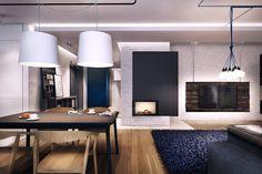 VM designblogg: Μοντέρνα Εντυπωσιακή Κατοικία