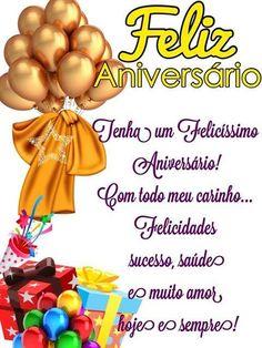 Com todo meu carinho... Tenha um felicíssimo Aniversário! #felicidades #feliz_aniversario #parabens
