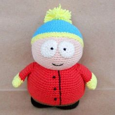 Eric Cartman is the most charismatic character in South Park. This free amigurumi pattern is designed for all fans of the comic guy. Enjoy it!