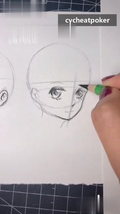 Half Face Drawing, Anime Face Drawing, Manga Drawing Tutorials, Drawing Techniques, Art Tutorials, Art Drawings Sketches Simple, Pencil Art Drawings, Cute Drawings, Sketching Tips