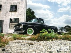 hot vintage cars | Ford F100 Hot Rod Truck Sold 1956 On Car And Classic Uk