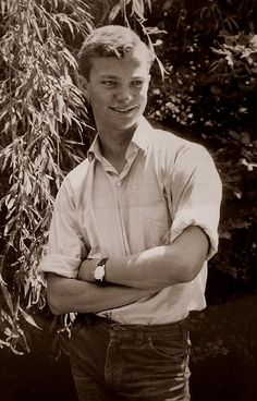 Crown Prince Carl Gustav (later King Carl XVI Gustav) of Sweden (1965)………WHAT A NICE LOOKING YOUNG MAN………ccp