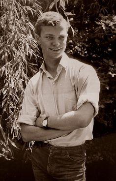 Crown Prince Carl Gustav (later King Carl XVI Gustav) of Sweden (1965)