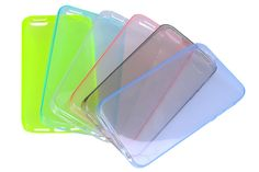 Ultra-slim Clear Flexible Soft TPU Rubber Protector Cases for iPhone 5s & iPhone 5 | Lagoo Tech