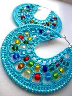 crochet earrings patterns free - Bing 画像