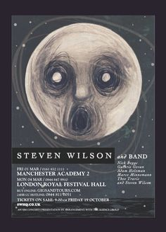 A Bewildered Moon Looking Down On The Raven That Refused To Sing Steven Wilson