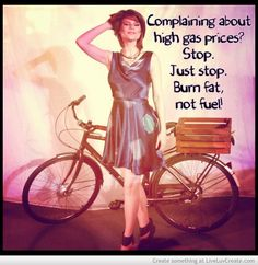 Complaining about high gas prices? Stop. Burn fat, not fuel! ❤️ #stayhealthy #burnfatnotfuel