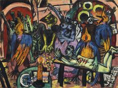 Nazi Allegory Painted by Max Beckmann Fetches Record $46 Million - Bloomberg