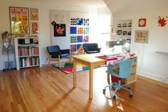 BERNINA Ambassador Erika Mulvenna shares a tour of her sewing studio with some tips for storing sewing notions and supplies.