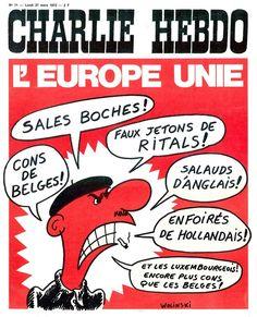 Charlie Hebdo - N° 71 - Lundi 27 Mars 1972 - Couverture de Wolinski