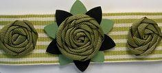 pinwheel ribbon flowers ~~~video tut~~~ http://youtu.be/zv-t5NAuVSI