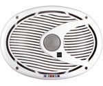 Dual DMS692 6 x 9-Inch 2-way 200 Watt Poly, Marinized, Marine Speakers by Dual. $59.99. Amazon.com                Make some waves when you bring the noise from your boat's stereo system with this pair of Dual DMS692 6 x 9-inch two-way speakers, which can handle up to 80 watts of RMS power (200 watts peak). With heat-resistant and weatherproof grills, you won't have to worry about sea spray and splashes from ruining the party. These oblong speakers have a 6 x 9-inch woofer...