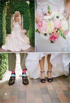 Dont forget fun shoes for your pics! And love the pic of the bride!