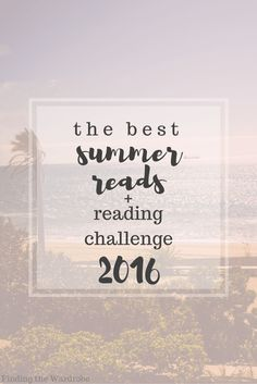 The Best Summer Reads 2016  Challenge!
