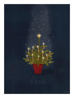 Christmas tree | matejakovac | etsy
