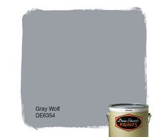 Dunn-Edwards Paints color: Gray Wolf DE6354    Click for a free color sample. #DunnEdwards