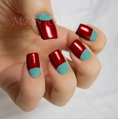 manicurator: nail art, polish, manicures and all things beauty blog: 31 Day Challenge: Day 1 - Red Nails