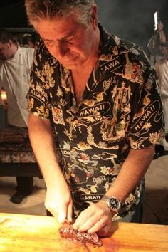Even famous chefs wear uglyshirts.