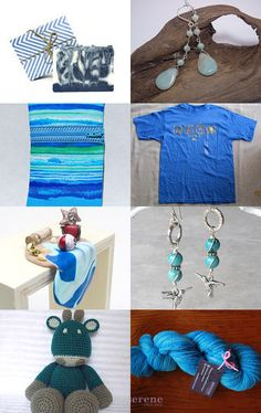 SUMMERTIME BLUES - END OF SUMMER! !!!!!!! BLAST Treasury!!! 9/12 by jacqueline swain on Etsy--Pinned with TreasuryPin.com