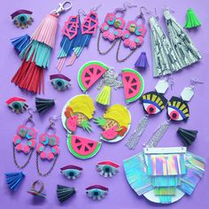 Boo and Boo Factory - Handmade Geometric Leather Jewelry