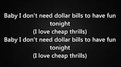 cheap thrills sia sean paul - YouTube