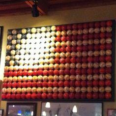 Painted baseballs for little boys room by diann