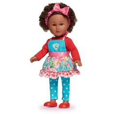 Doll clothes-fits Baby Alive//Baby Doll-Rf Orange Floral