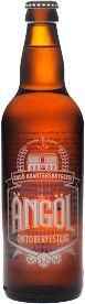 Oktoberfestlig Ängöl Märzen / En bärnstenfärgad lageröl i stilen Märzen, så som den bryggdes förr.