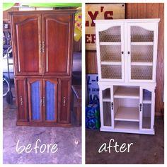 Workshop Girl: Storage Cabinet turned HUTCH