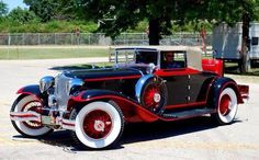 1929 Cord Maintenance of old vehicles: the material for new cogs/casters/gears could be cast polyamide which I (Cast polyamide) can produce Auto Retro, Retro Cars, Vintage Cars, Cord Automobile, Auburn Car, Bmw Autos, Classy Cars, Old Classic Cars, Cabriolet