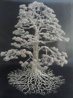 boom van ijzerdraad