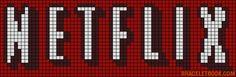 Alpha Pattern added by loonybin Easy Pixel Art, Pixel Art Grid, Graph Paper Drawings, Graph Paper Art, Modele Pixel Art, Pixel Drawing, Art Perle, Anime Pixel Art, Diy Friendship Bracelets Patterns