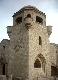 Filerimos Monastery And Church. Filerimos Mountain in Rhodes Greece Greece Rhodes, Rhode Island, Notre Dame, Mountain, Architecture, Beach, Places, Travel, Life