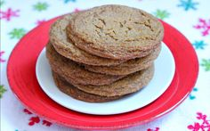 Betty Crocker held a holiday cookie contest, and this recipe was one of the big winners.  I can totally see why.  I tested the recipe, and I can confirm that this is one of the best-ever Chewy Gingerbread Cookies I've made!  It's packed with spices, and it's definitely tender and chewy.  The recipe comes from [...]