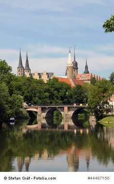 Schloss Merseburg in Sachsen Anhalt