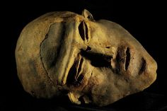 Etrurian funeral mask, Chianciano, Italy ●彡