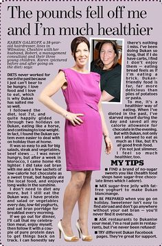 Karen Galkoff used the Dukan diet - and it was a huge success