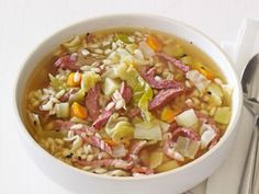 Corned Beef and Cabbage Soup Recipe | Food Network Kitchen | Food Network