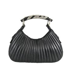 Tom Ford for Yves Saint Laurent Black Noir Mombasa Hand Bag New Old Stock   From a collection of rare vintage top handle bags at https://www.1stdibs.com/fashion/handbags-purses-bags/top-handle-bags/