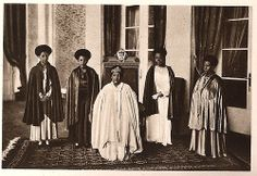 Empress Menen and Princesses of Ethiopia in the early 1930's Empress Menen (seated in the middle) with women of the Imperial family. Standing from left, Her Imperial Highness Princess Tsehai Haile Selassie, Her Imperial Highness Princess Tenagnework Haile Selassie, Her Imperial Highness Princess Zenebework Haile Selassie, Her Imperial Highness Crown Princess Wolete Israel Seyoum (first wife of Crown Prince Asfaw Wossen).