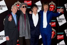 Rolling Stones celebrate 50 years on stage with retrospective photo exhibition at London's Somerset House