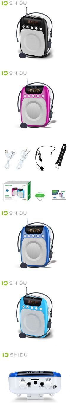 SHIDU SD-S358 Brand of mini portable speaker microphone amplifier passive audio speakers megaphone