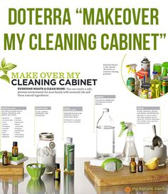 "doTERRA ""Makeover My Cleaning Cabinet"""