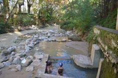 Hot pools in Alhama de Granada