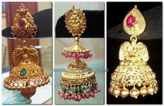 jhumka collection from ganesh jewels