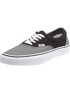 Vans Adult Era Core Classics, Pewter/Black size 7.5 ❤ Vans