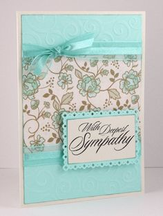 Handmade Sympathy Cards - Picmia