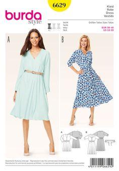 B6629 Misses' Dress